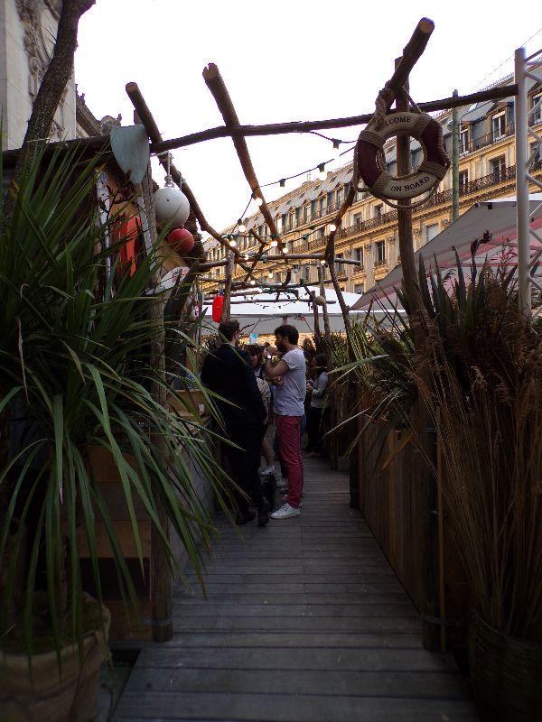 Terrasse Paillotte by Cointreau Opéra Paris - DR Melle Bon Plan