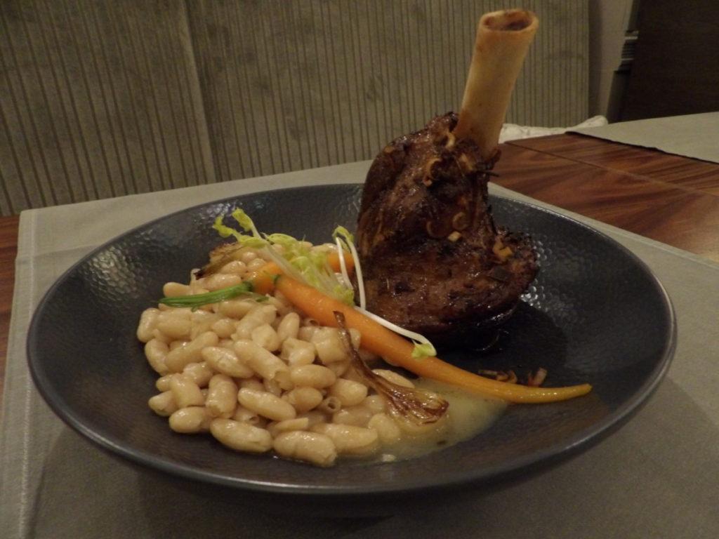 souris d'agneau Restaurant 16 Haussmann Marriott Opera Ambassador