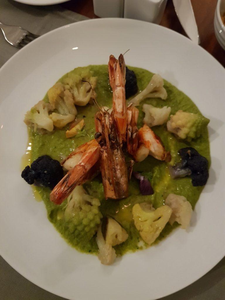 gambas Restaurant 16 Haussmann Marriott Opera Ambassador