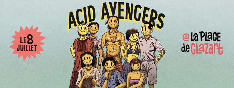 ACID AVENGERS Header FB