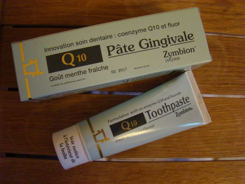 pâte Gingivale Zymbion Q10 Pharma Nord - DR Melle Bon Plan