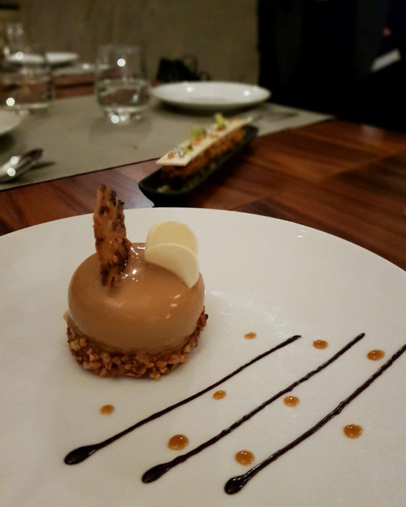 dessert Restaurant 16 Haussmann Marriott Opera Ambassador