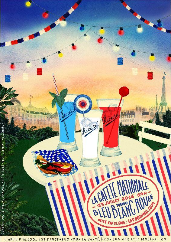 La Cafète Nationale fooding 2016 - Affiche