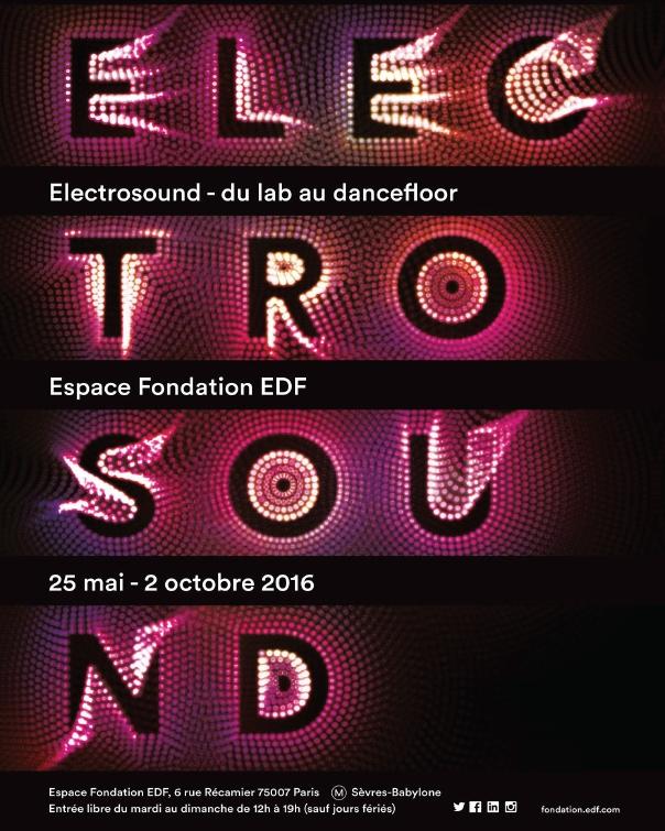 Expo Electrosound au Rex Club avec l'Espace Fondation EDF