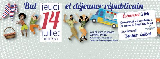 14 juillet Saint Ouen 2016