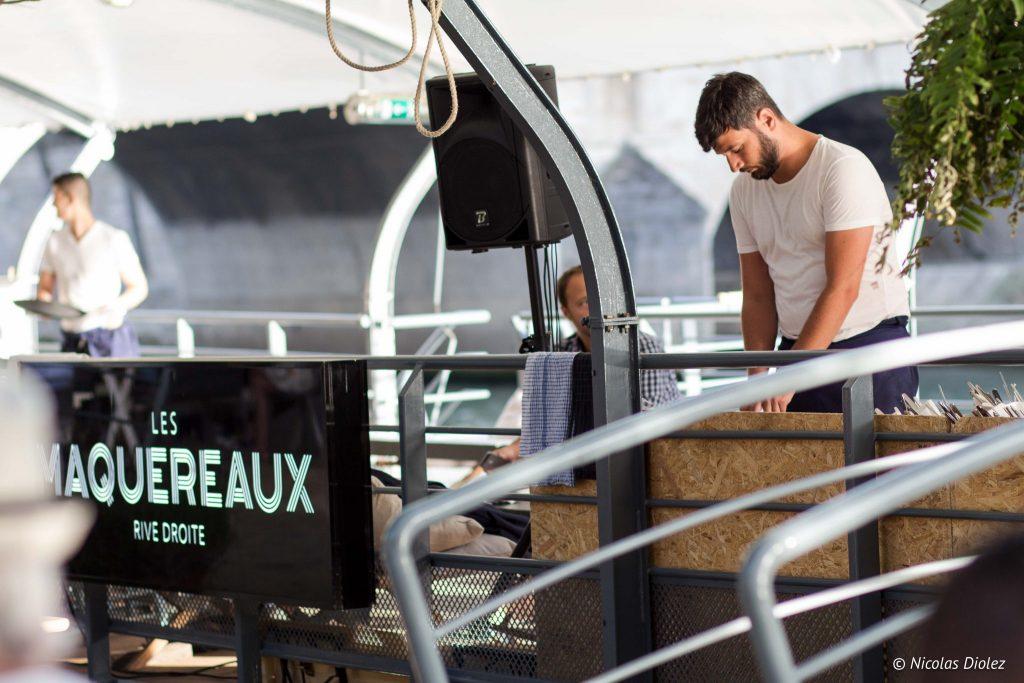 Les maquereaux peniche Paris - DR Nicolas Diolez 2016