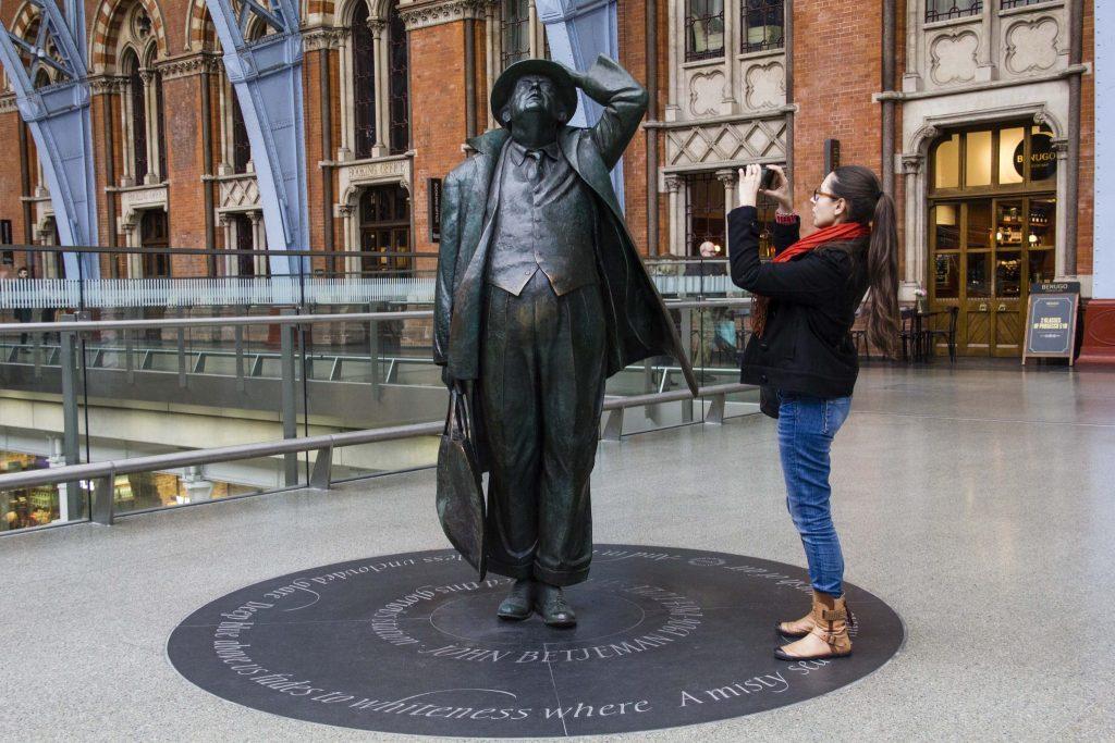 Gare Saint Pancras Londres - DR Nicolas Diolez 2016