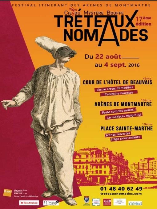 Festival Tréteaux nomades 2016