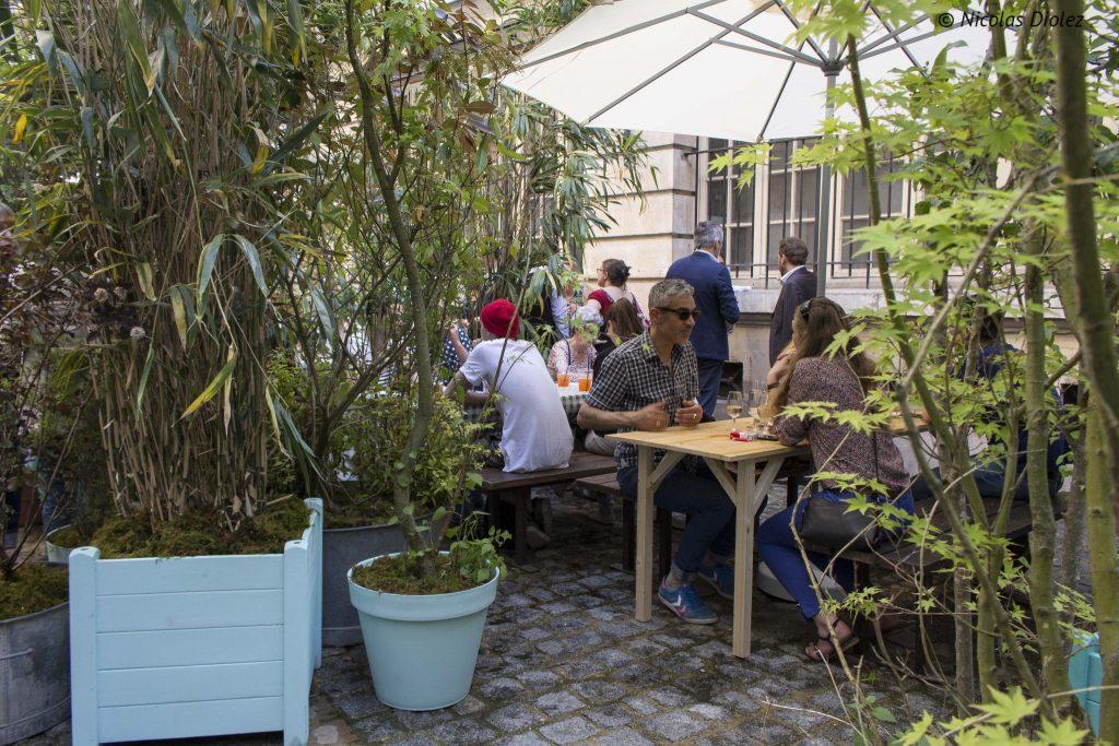 Terrasse Jardin Municipal Paris - DR Nicolas Diolez 2016