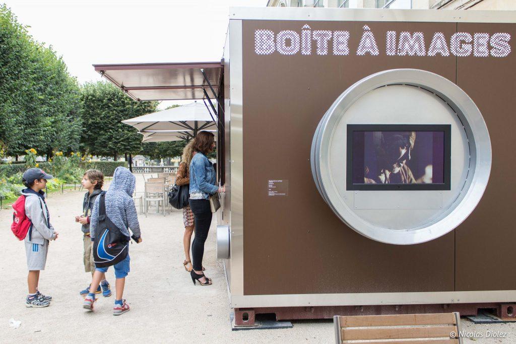 Terrasse du jeu de paume la boite a images - DR Nicolas Diolez 2016