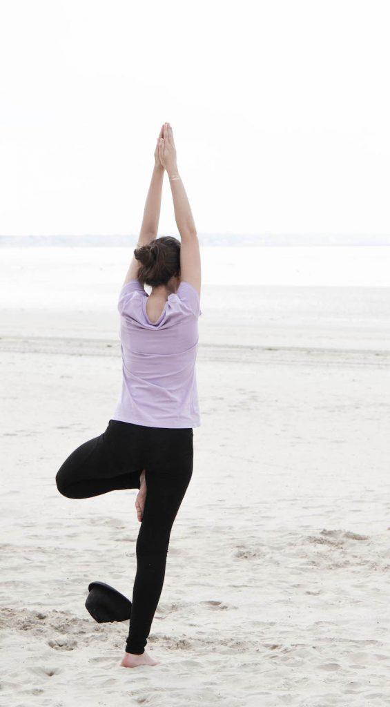 Melle Bon Plan fait du yoga - DR Mocassin serre tete