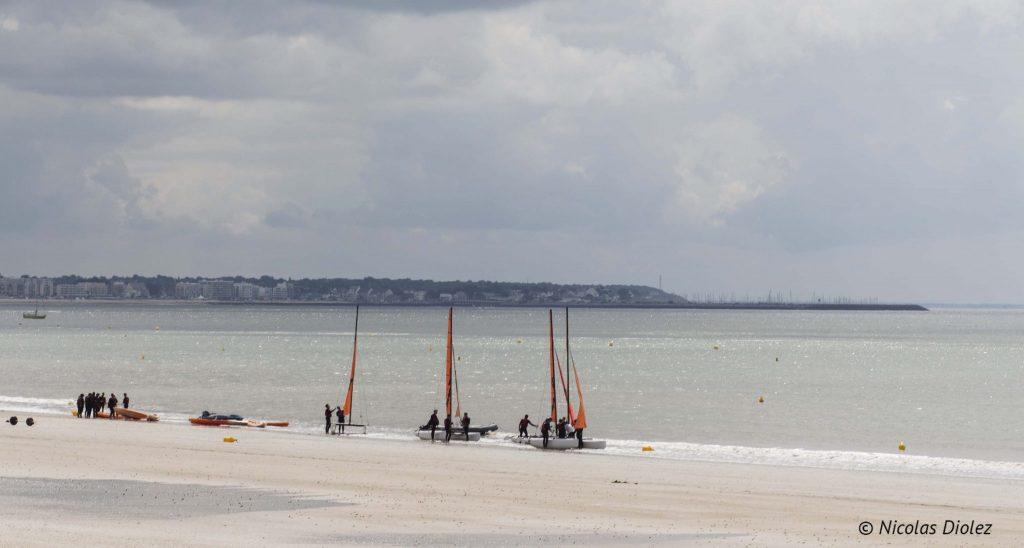 catamaran plage La Baule - DR Nicolas Diolez 2016