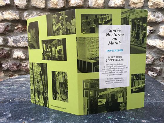 Invitation soirée 'Nocturne au Marais' Rives de la Beauté 2016