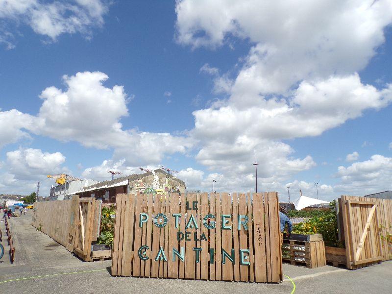 Le potager de la Cantine du Voyage Nantes - DR Melle Bon Plan 2016