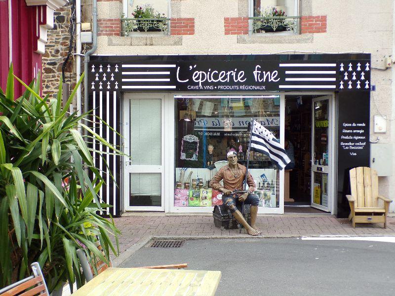 L'épicerie fine Binic Bretagne - DR Melle Bon Plan 2016