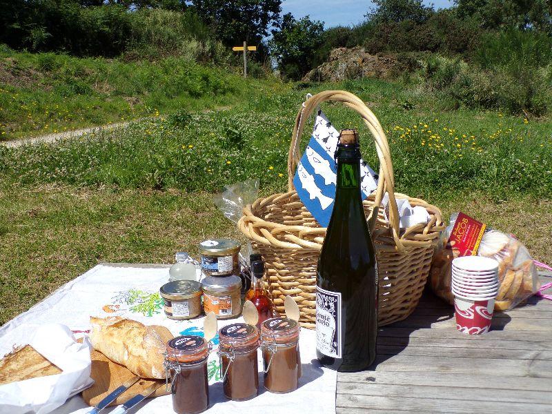 Panier apéro plage l'épicerie fine Binic Bretagne - DR Melle Bon Plan 2016