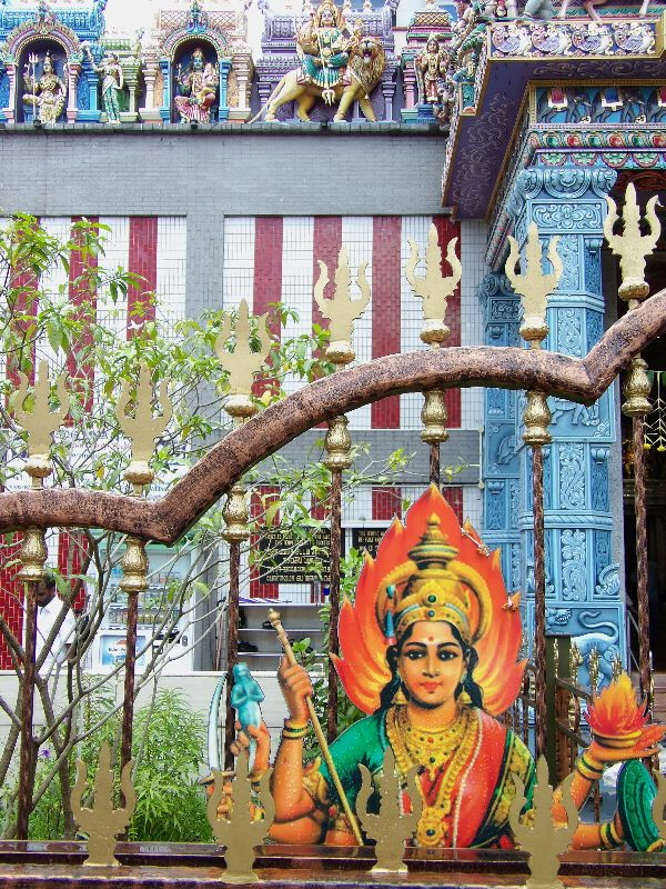 Temple Sri Veeramakaliamman Little India Singapour - DR Melle Bon Plan 2016