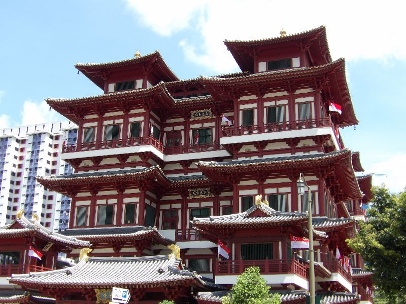 Buddha Tooth RelicTemple Chinatown Singapour - DR Melle Bon Plan 2016