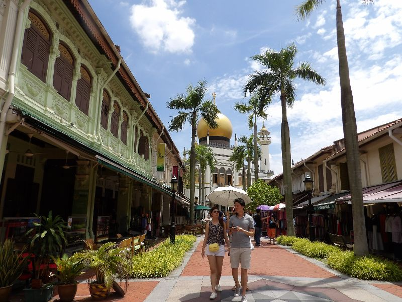 Mosquée du Sultan Singapour - DR Melle Bon Plan 2016