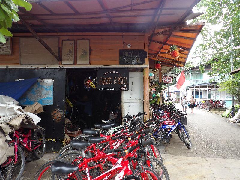 Pulau Ubin Bicycle rental no 25 Singapour - DR Melle Bon Plan 2016