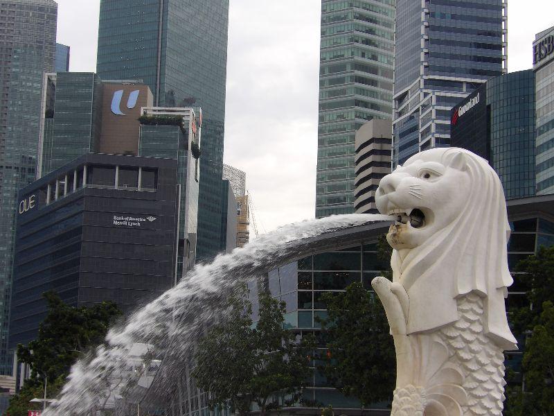 Merlion Singapour - DR Melle Bon Plan 2016