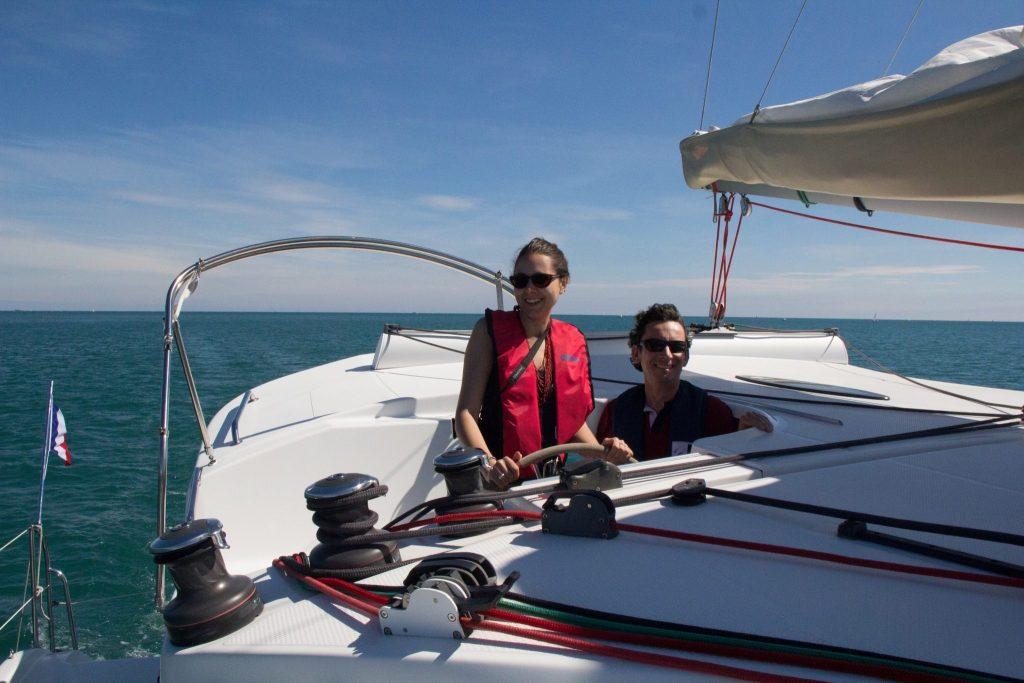 Balade Catamaran Binic Bretagne - DR Christel Moreau