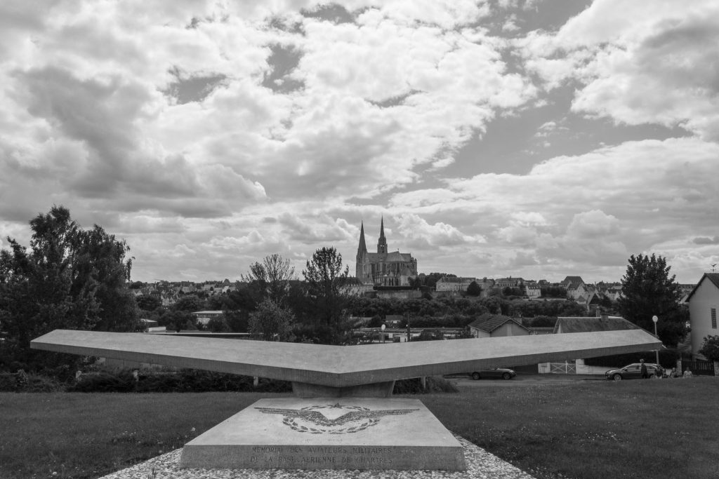 Vue de Chartres - DR Nicolas Diolez 2016