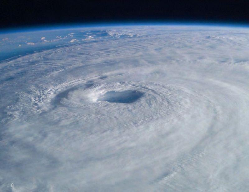 Ouragan 3 D géode