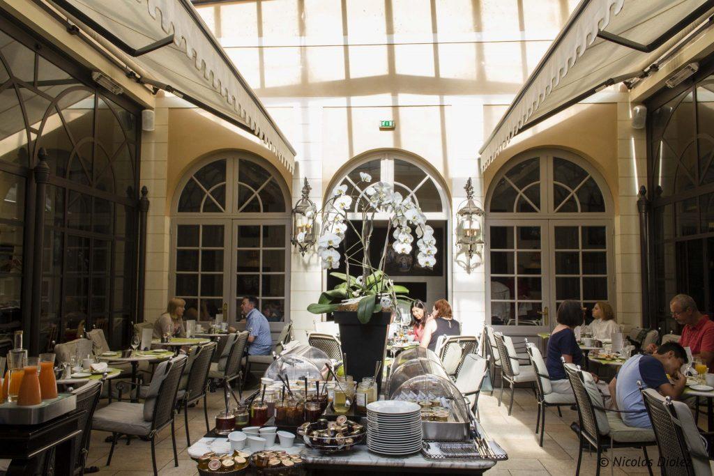 Hôtel Le Grand Monarque - DR Nicolas Diolez 2016