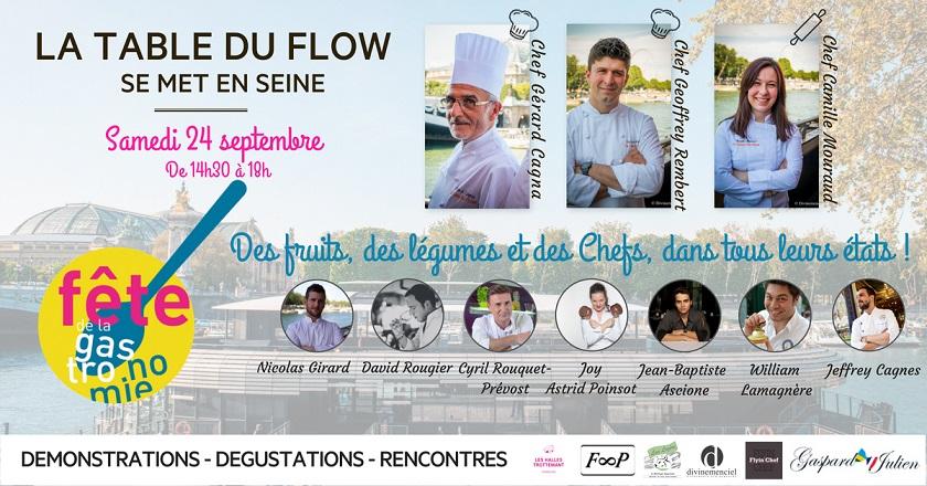 gastronomie-flow fête de la gastronomie 2016