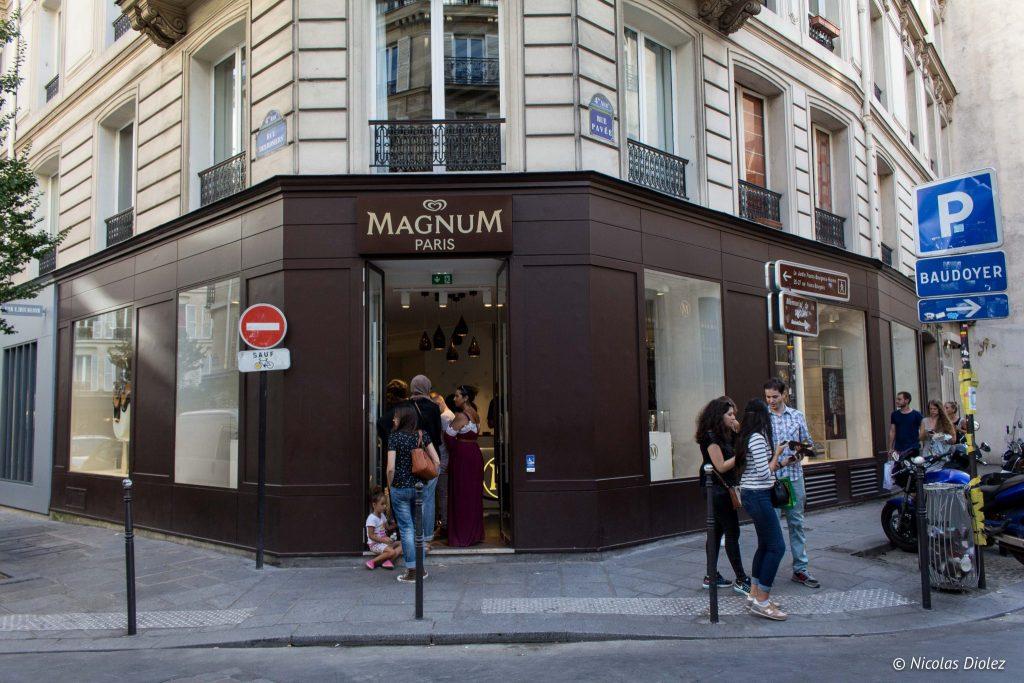 Popup store Magnum Paris - DR Nicolas Diolez 2016