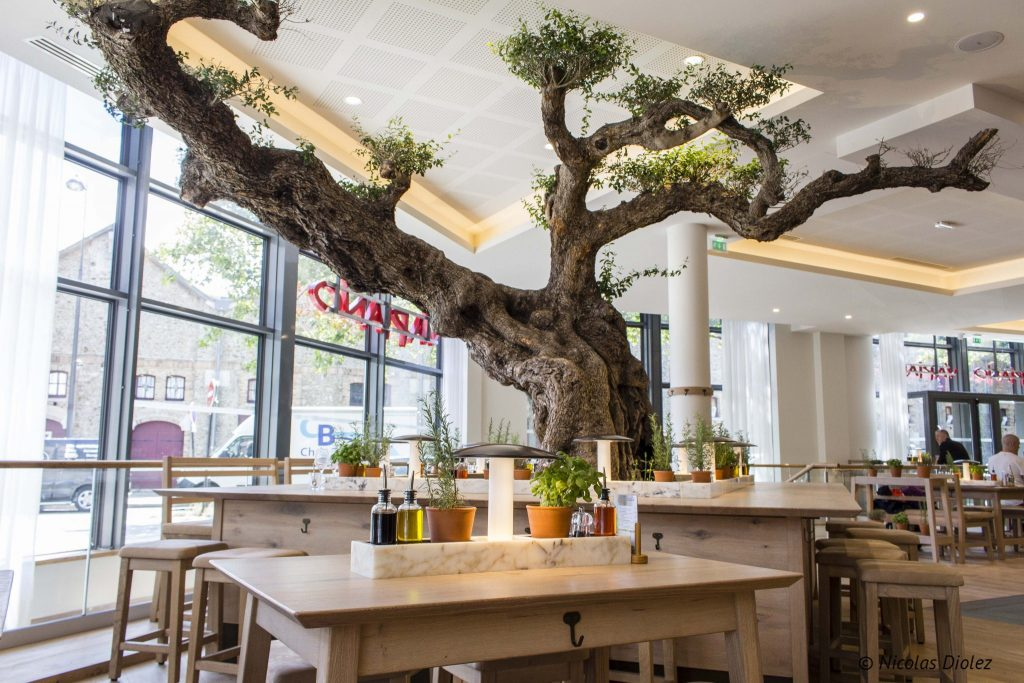 Restaurant Vapiano Paris Bercy - DR Nicolas Diolez 2016