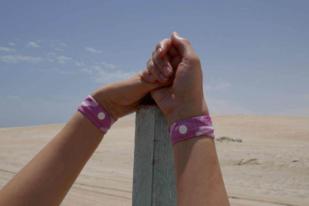 Désert Qatar bracelet Sea Band - DR Melle Bon Plan