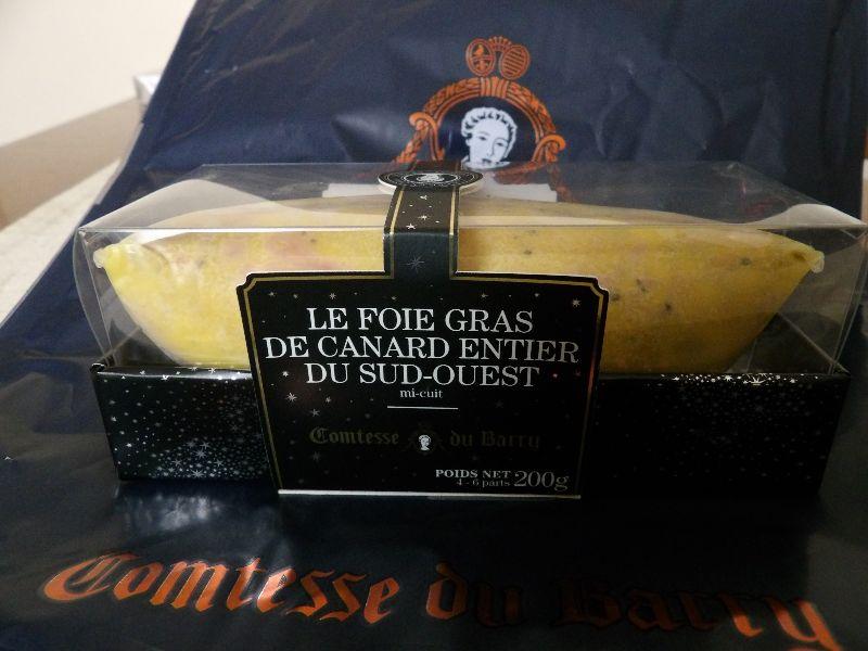 Foie gras Comtesse Du Barry - DR Melle Bon Plan 2016