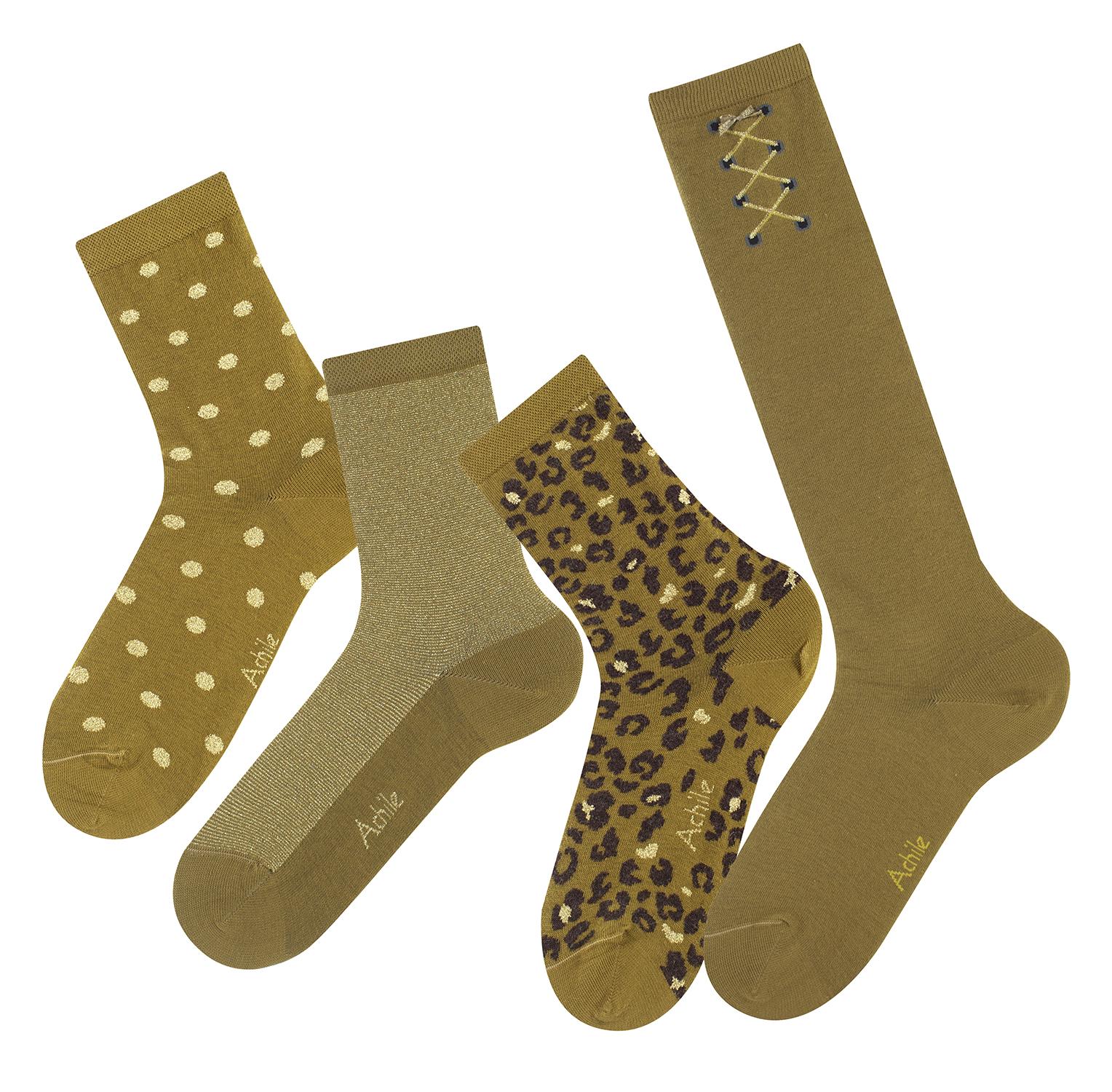 achile-chaussettes-gold-et-lurex