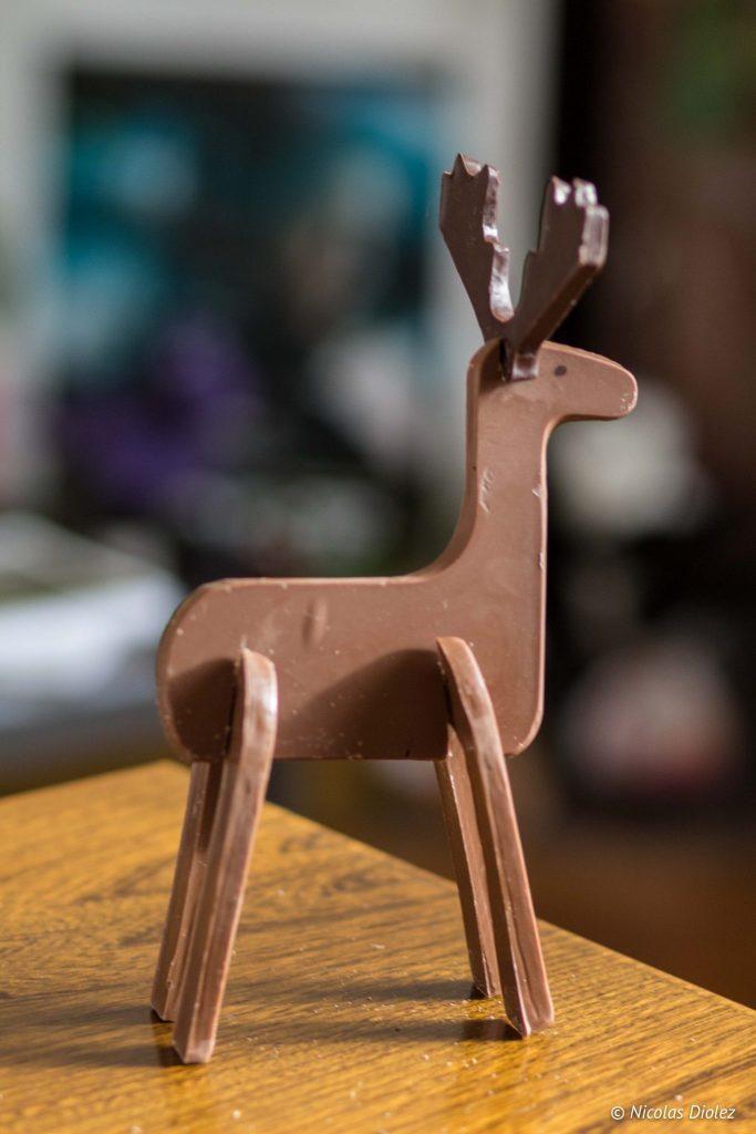 Caribou en chocolat Réauté Chocolat - DR Nicolas Diolez 2016