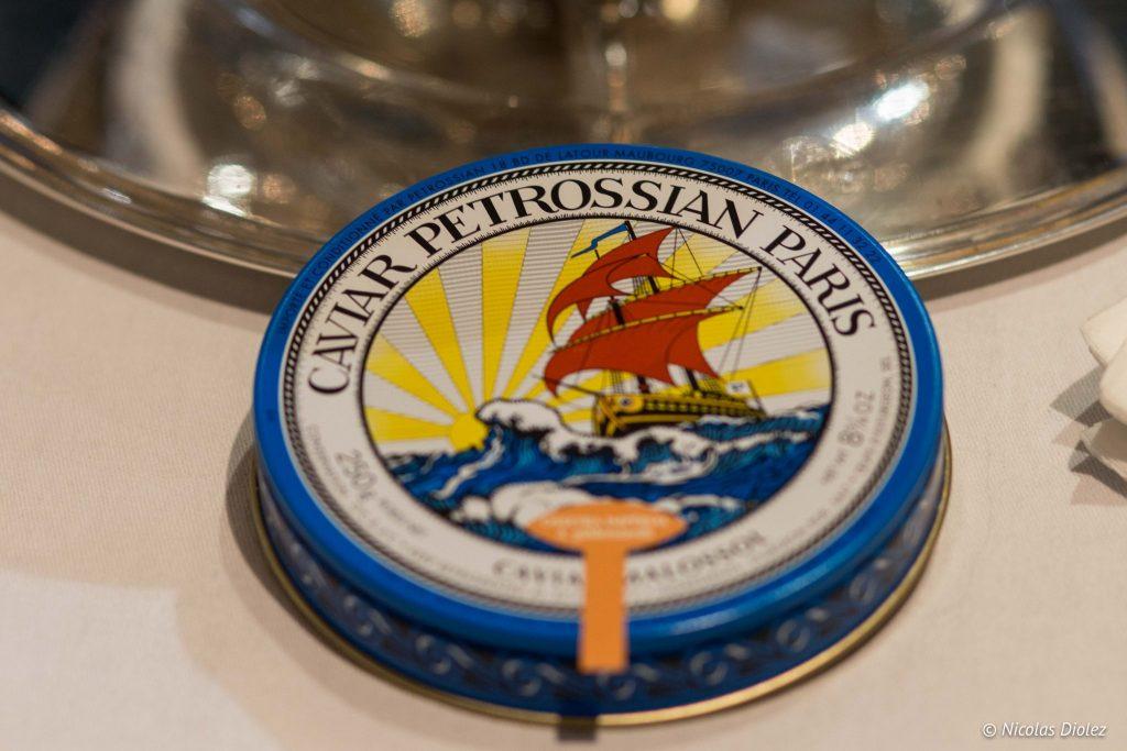 Caviar Petrossian - DR Nicolas Diolez 2016