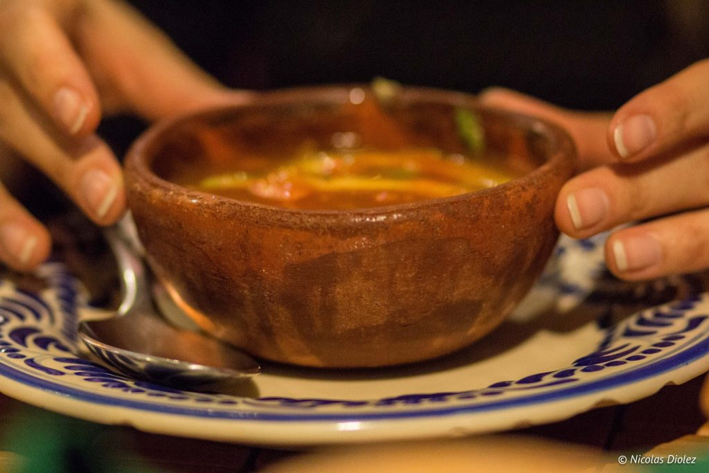 Restaurant Mesón Sacristía de la Compañía Pueble - DR Nicolas Diolez 2016