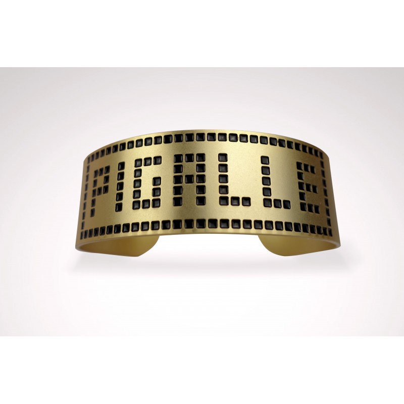 bracelet-pigalle-dore-noir