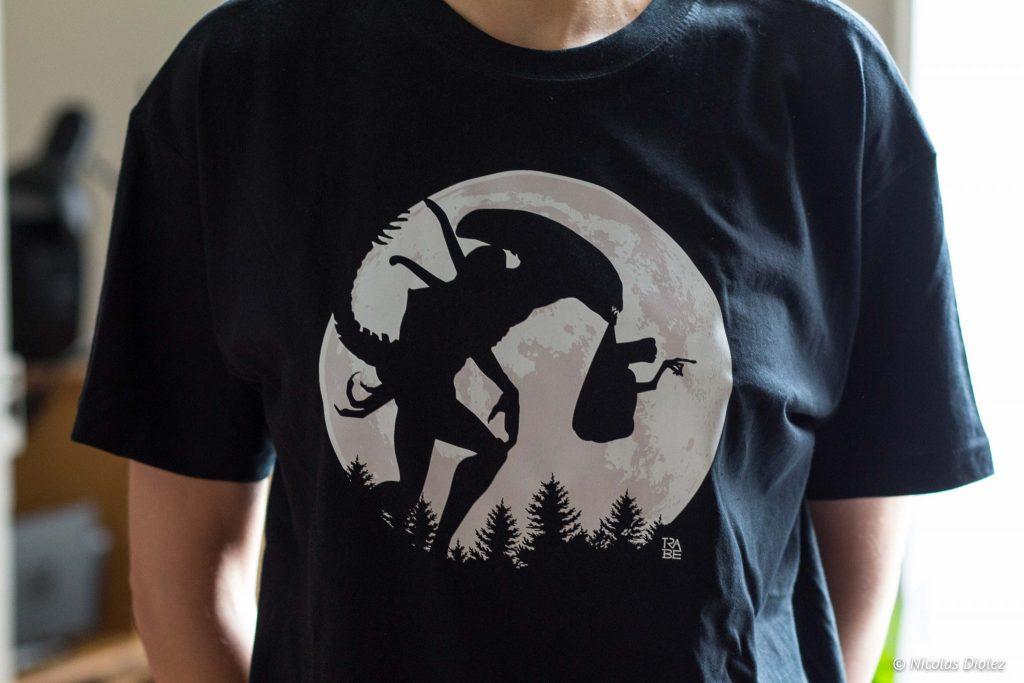 tshirt Rue du Tee Shirt - DR Nicolas Diolez 2016