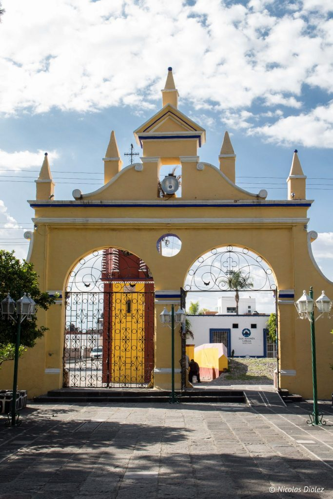 Eglise Cholula Mexique - DR Nicolas Diolez 2016