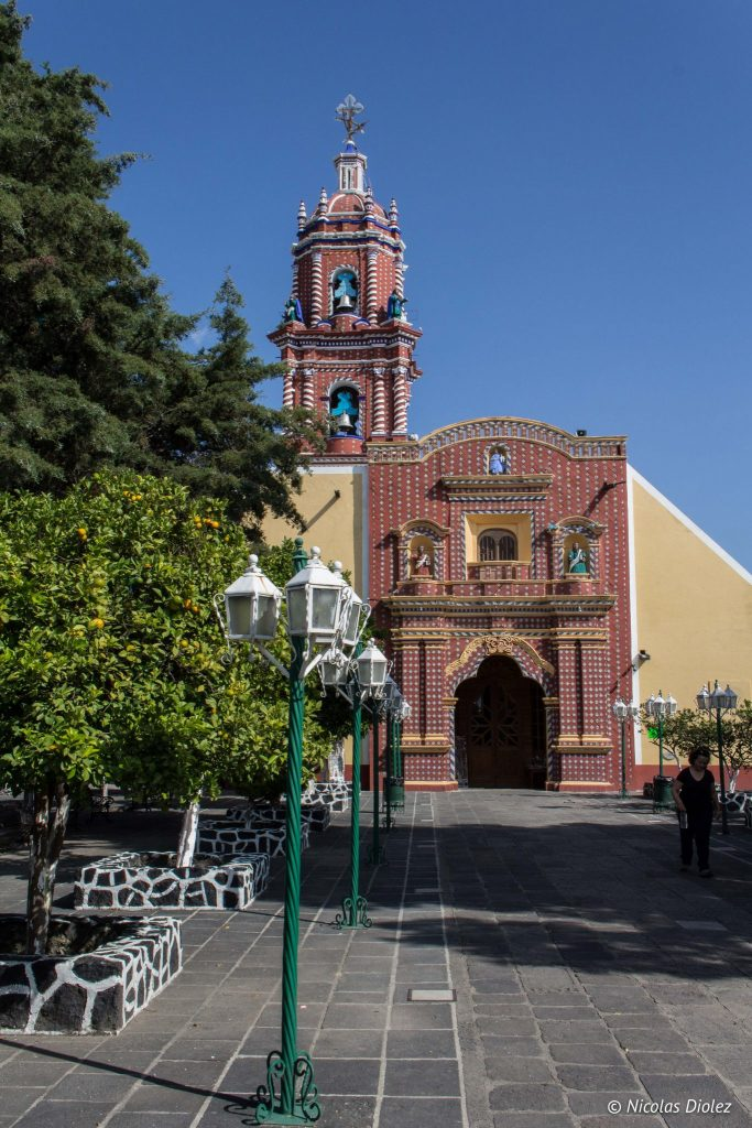 Eglise Cholula Mexique - DR Nicolas Diolez 2016