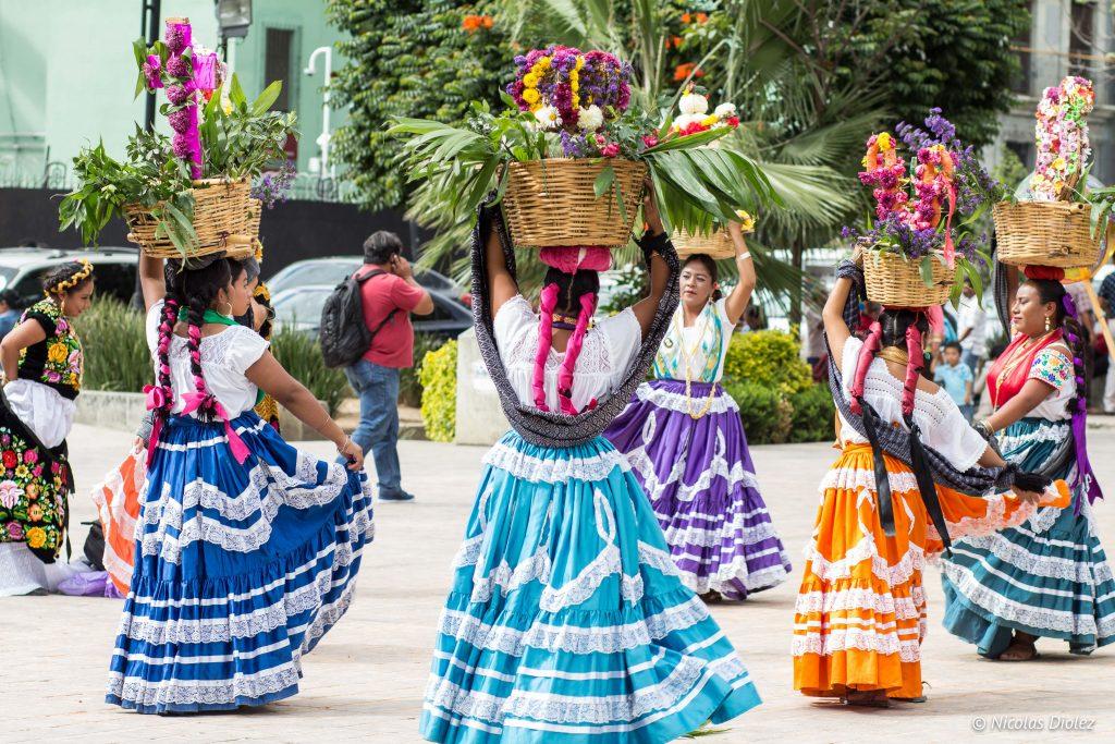 Danseuses Oaxaca Mexique - DR Nicolas Diolez 2016