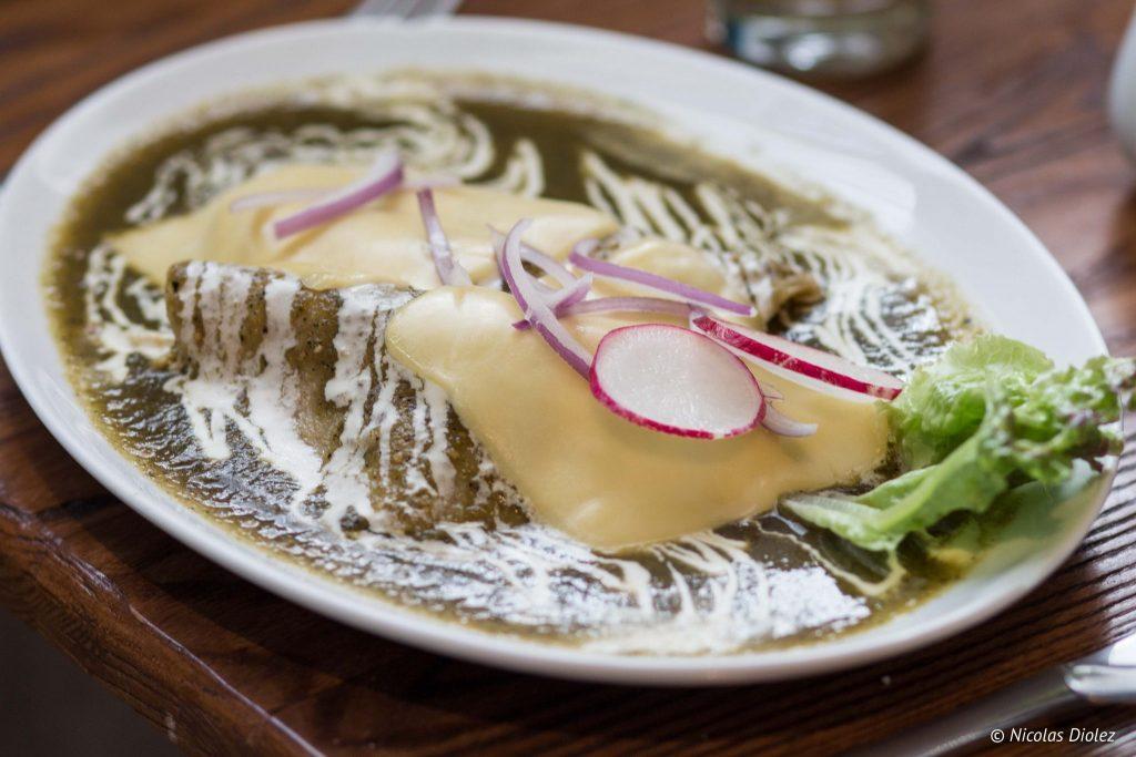 Restaurant Cinco cocina urbana hotel Descanseria Puebla - DR Nicolas Diolez 2016