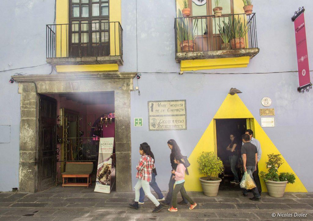 Hôtel Mesón Sacristía de la Compañía Puebla - DR Nicolas Diolez 2016
