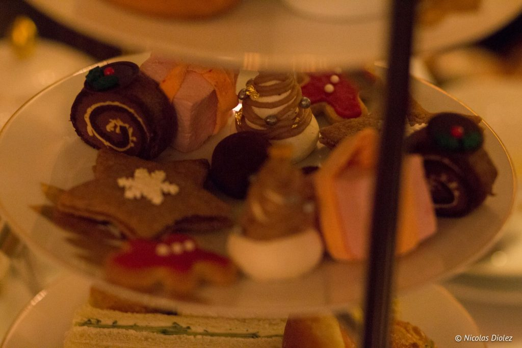 Afternoon tea noël de l'hotel Paris - DR Nicolas Diolez 2016