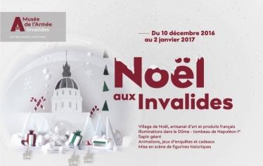 Noël Invalides Musée de l'Armée 2016