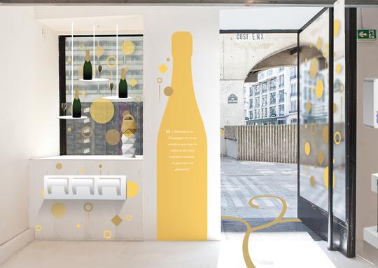 Boutique éphémère Les Champagnes de Vignerons