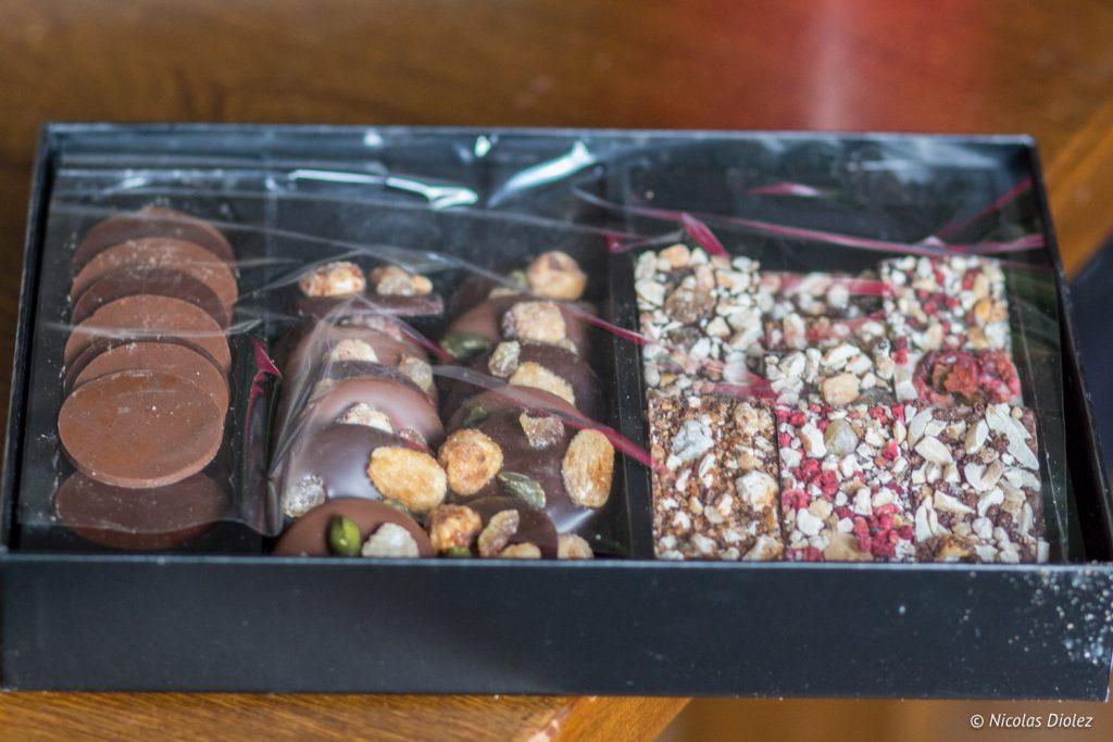 Chocolats de noel Michel Cluizel - DR Nicolas Diolez 2016