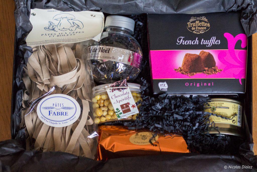 Box de noel Les Delices de France - DR Nicolas Diolez 2016